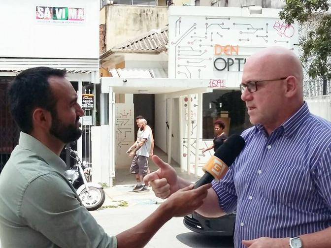 Entrevista Jornal da Gazeta que vai ao ar dia 08/02/2017 às 19:00h