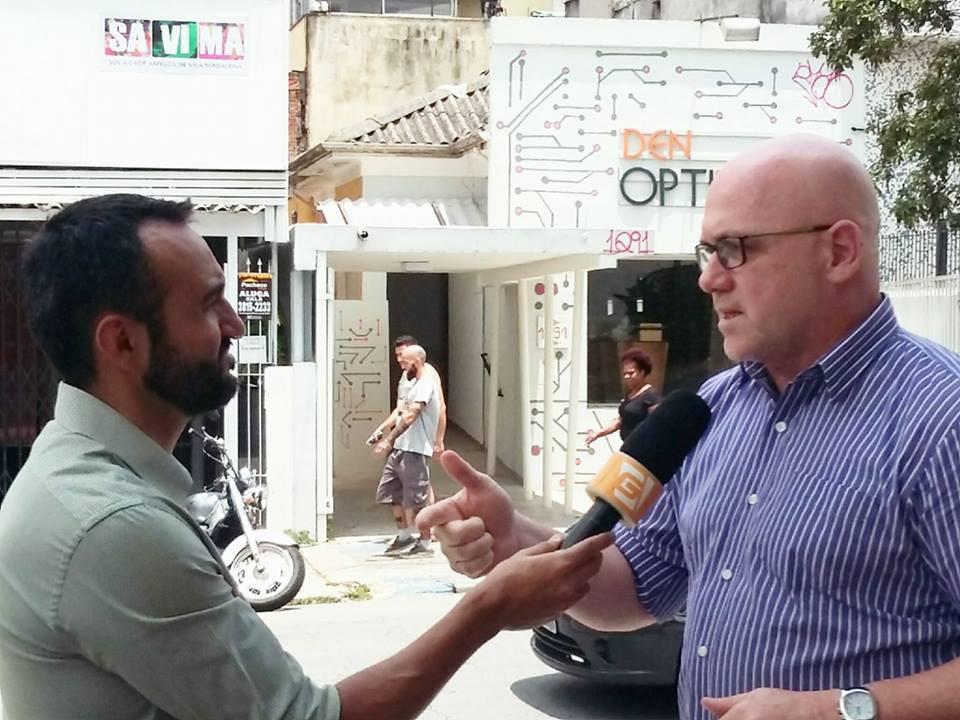 Cassio Calazans entrevistado TV Gazeta