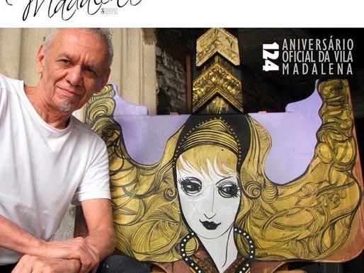 Quem é da Vila: Bill Soares  Artista Plástico