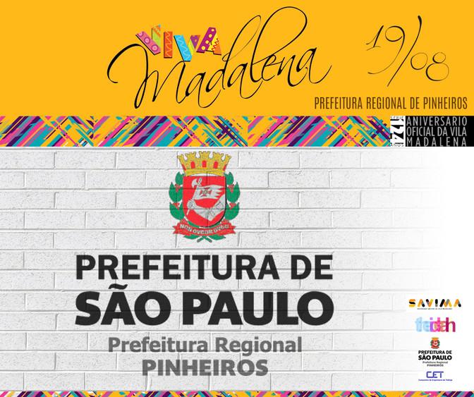 Oficial e anual - Prefeitura Regional Pinheiros