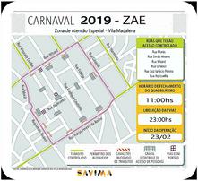 ZAE - Zona de Atenção Especial 2019