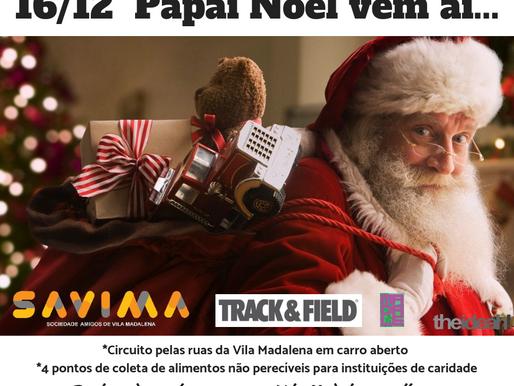 Papai Noel na Vila 2018