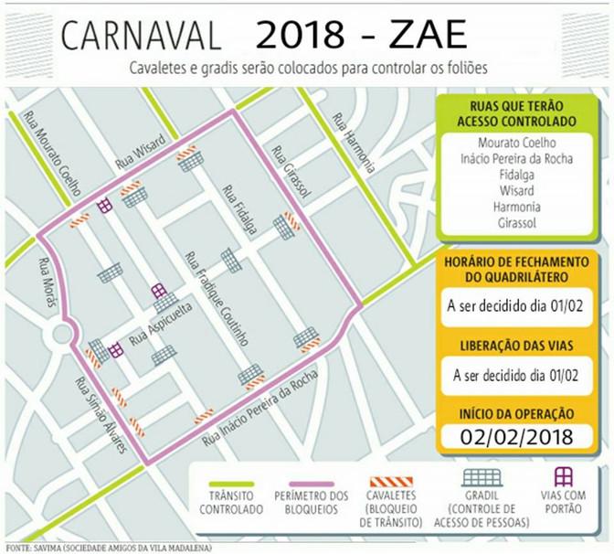 ZAE - Zona de Atenção Especial 2018