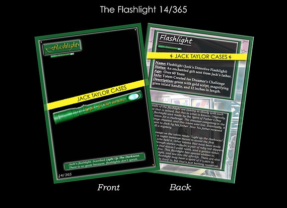 The Flashlight Collector Card