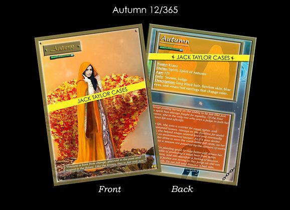 Autumn Collector Card