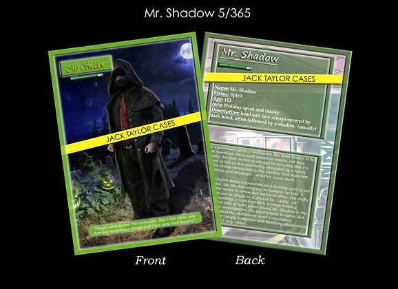 Mr. Shadow Collector Card