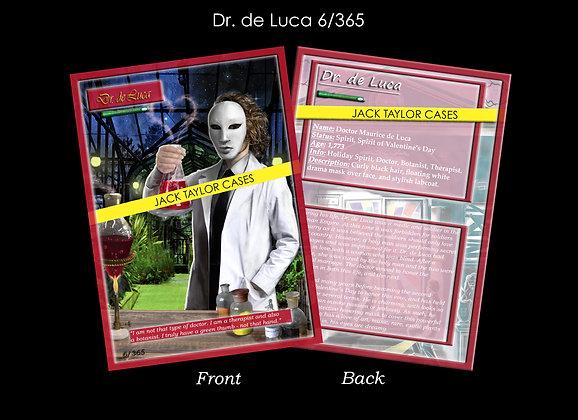Dr. de Luca Collector Card