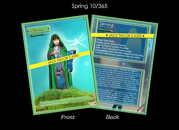 Spring Collector Card