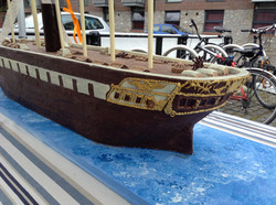 The finished boat