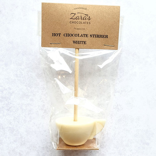 White Hot Chocolate Stirrer