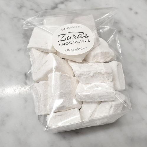 Marshmallow pieces