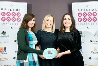 Zara's Chocolates team at the Bristol Good Food Awards 2018