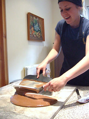 Zara tempering chocolate at home