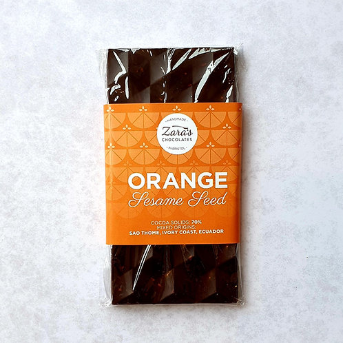 Orange & Sesame Seed