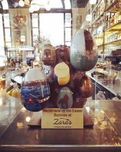 Giant Easter Egg for the Ivy