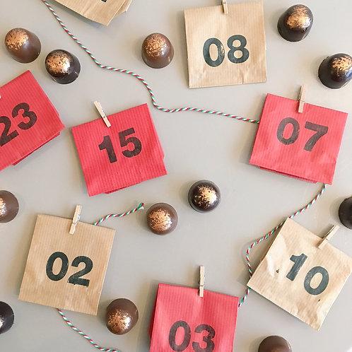Salted Caramel Advent Calendar