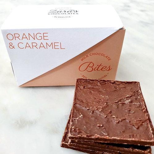 Orange & Caramel Bites