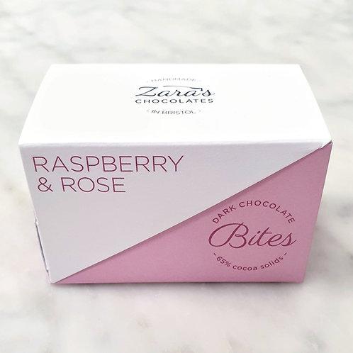 Raspberry & Rose Bites