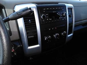 Detailed Truck Interior