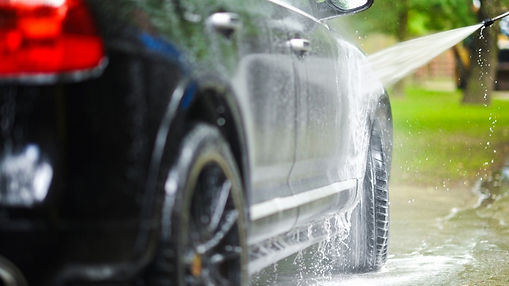 Auto Detailing Black Car