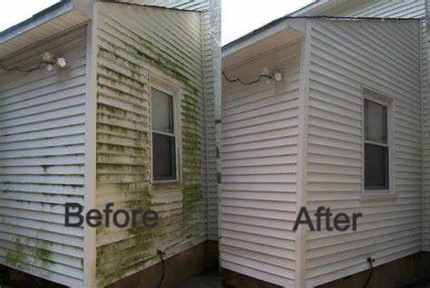 Before and After House Soft Wash