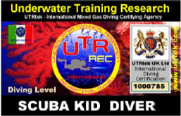 Scuba kid Diver