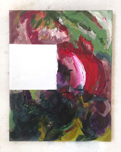 Interrupted 7 painting