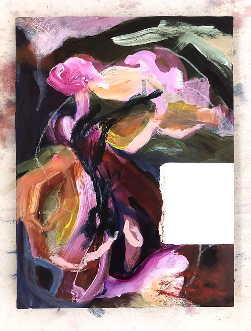 Interrupted 9 painting