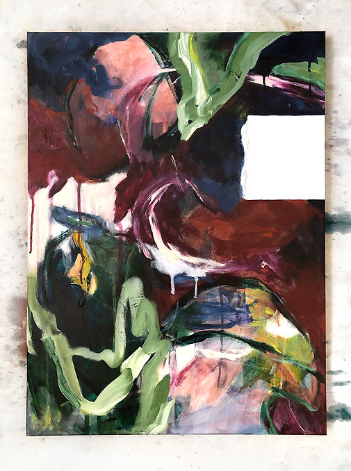 Interrupted 8 painting