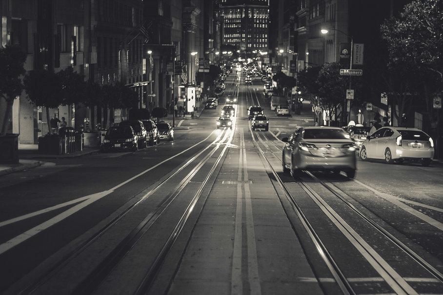 Autos in der Stadt