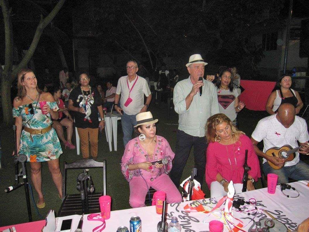 Projeto Filhas do Samba Outubro Rosa