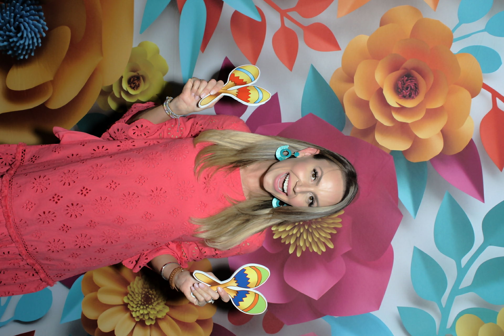 Fiesta Party Photo Booth Rental Fun!