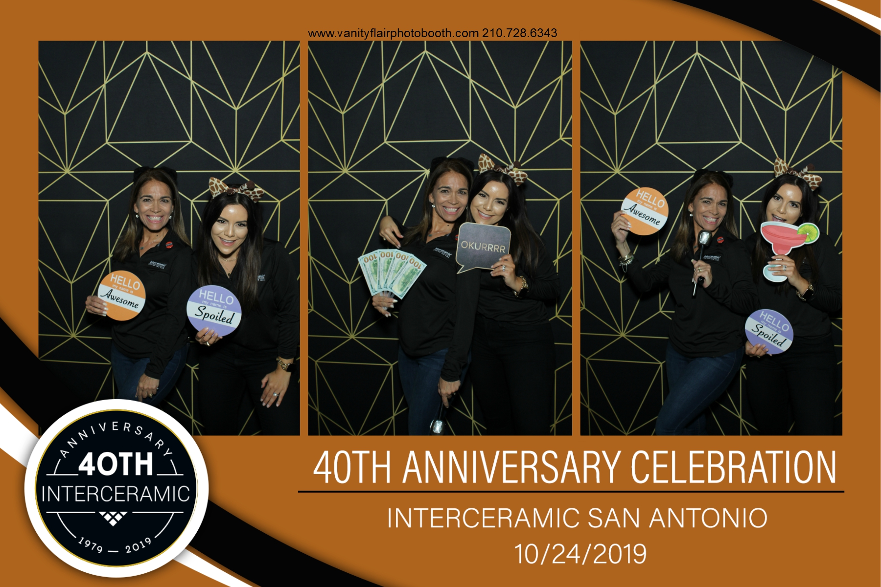 Corporate Anniversary Party Photo Booth Rental