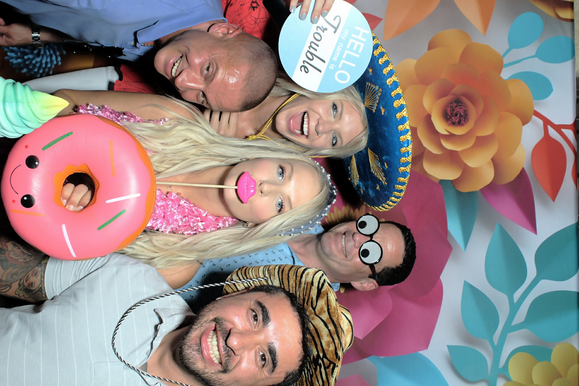 Fiesta Party Fun Photo Booth Rental!