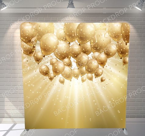 Gold Balloons