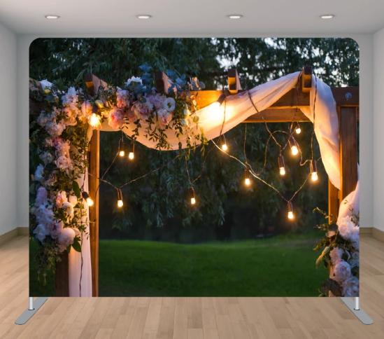Lighted Flower Garden