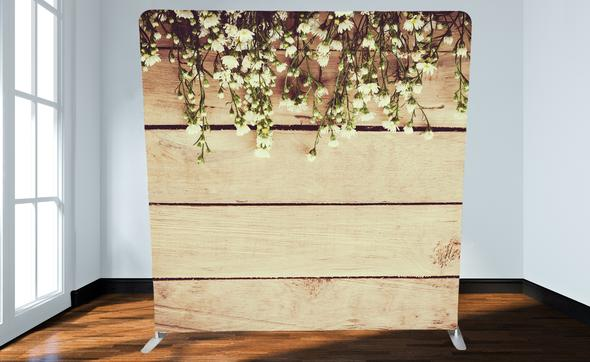 Wood and Daisies