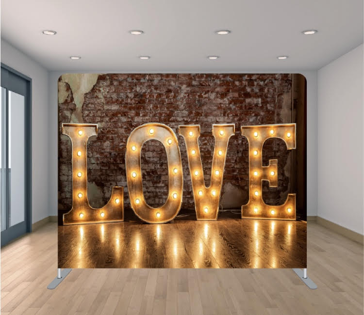Love Lights Rustic
