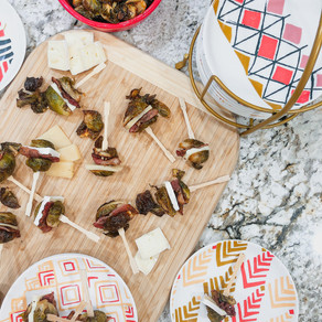 A Last Minute Appetizer Recipe to the Rescue: Mini Maple Brussels Sprouts Sliders