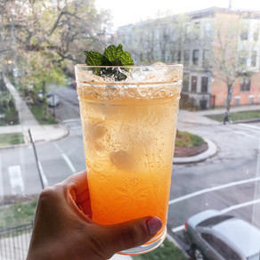 A Ombre Orange Cocktail That Tastes as Good as it Looks