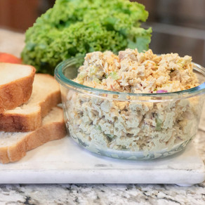 For When That Hunger Strikes: Easy 10 Minute or Less Tuna Salad Sandwiches