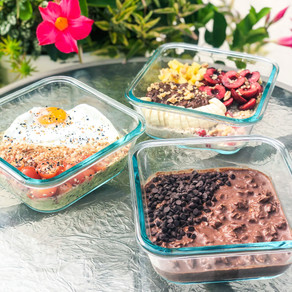 Make Ahead Overnight Oats 3 Ways: Sweet, Savory and Rich
