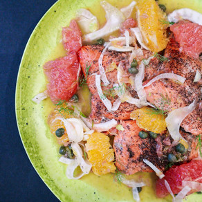 Squeeze the Day: Citrus and Fennel Sockeye Salmon
