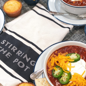 Slow and Steady Wins the Race: Slow Cooker Turkey Chili Made With Chocolate and Love