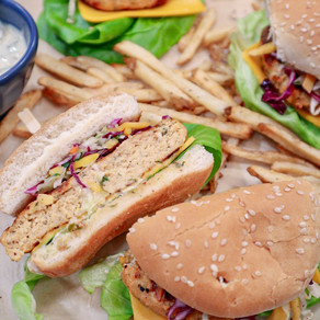 Anything but Ordinary: Flame Grilled Tilapia Burgers