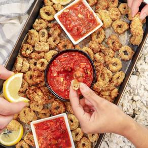Name a Better Duo, I'll Wait: Air Fryer Calamari with Chunky Marinara Sauce