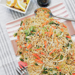 """When They Say """"Send Noods"""": I Present you with Pancit Bihon-Canton"""