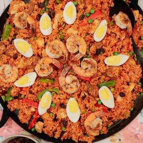 When Two Become One: Filipino Style Paella (Arroz Valenciana)