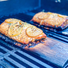 Fired Up About This One: 5 Ingredient Grilled Cedar Plank Salmon