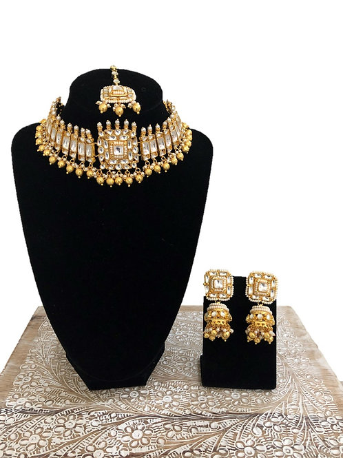 Shivani kundan choker necklace